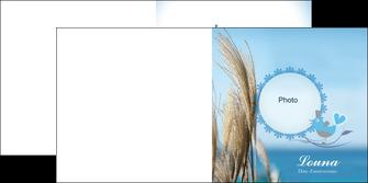 realiser depliant 2 volets  4 pages  paysage plante nature ciel MLGI34315