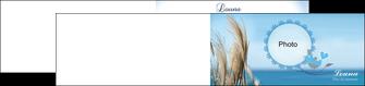 modele depliant 2 volets  4 pages  paysage plante nature ciel MLGI34323