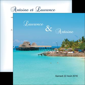 exemple flyers paysage ile mer ocean MLGI34343