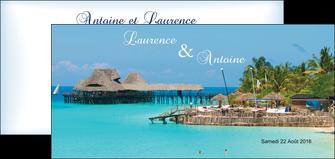 creation graphique en ligne flyers paysage faire part de mariage carte de mariage invitation mariage MLGI34345