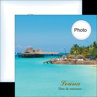 maquette en ligne a personnaliser flyers paysage faire part de naissance carte pour naissance plages MLGI34357