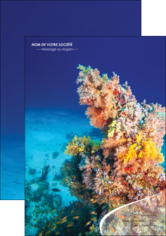 imprimer flyers plongee  plongee plongee sous marine centre de plongee MLGI34363