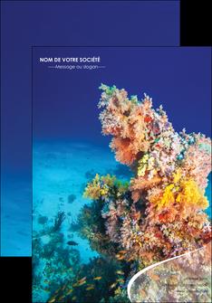 personnaliser modele de affiche plongee  plongee plongee sous marine centre de plongee MLGI34377