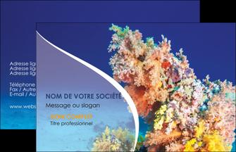 realiser carte de visite plongee  plongee plongee sous marine centre de plongee MLGI34393