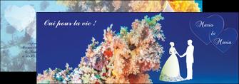 modele en ligne depliant 2 volets  4 pages  ocean paysage nature MLGI34415