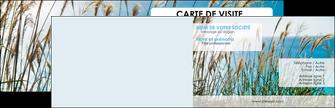 creer modele en ligne carte de visite paysage nature champs fleurs MLGI34665