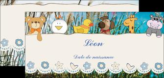 imprimerie flyers faire part de naissance carte de naissance carton invitation naissance MLGI34829