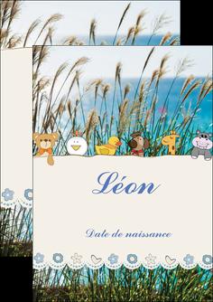 faire flyers faire part de naissance carte de naissance carton invitation naissance MIF34835