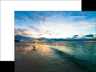 impression pochette a rabat sejours mer nature ciel MID34855