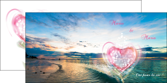 faire modele a imprimer depliant 2 volets  4 pages  faire part de mariage invitation mariage noces MLGI34873