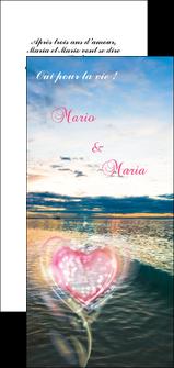 personnaliser maquette flyers faire part de mariage invitation mariage noces MLGI34875