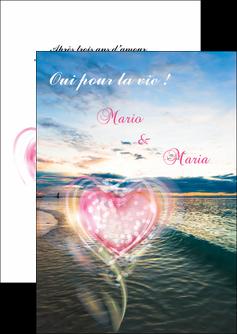 cree flyers faire part de mariage invitation mariage noces MLGI34879