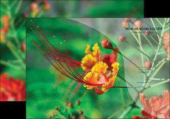 imprimerie affiche fleuriste et jardinage nature colore couleurs MLGI34907