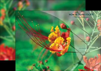 cree affiche fleuriste et jardinage nature colore couleurs MLGI34913