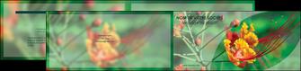 maquette en ligne a personnaliser depliant 2 volets  4 pages  fleuriste et jardinage nature colore couleurs MLGI34933