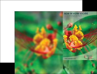 modele pochette a rabat fleuriste et jardinage nature colore couleurs MLGI34937