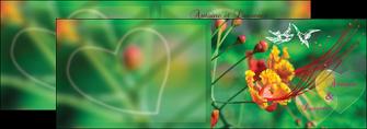imprimerie depliant 2 volets  4 pages  nature colore couleur MLGI34939