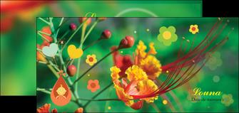 imprimer flyers fleur naissance nature MLIG34953