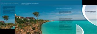 modele en ligne depliant 4 volets  8 pages  sejours mer plage bord de mer MLGI35041
