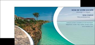 maquette en ligne a personnaliser carte de correspondance sejours mer plage bord de mer MLGI35053