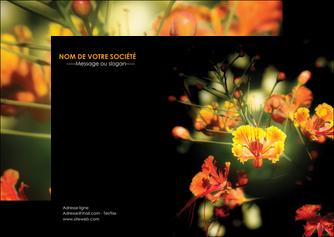 imprimer flyers fleuriste et jardinage fleurs printemps jardin MLIG35161
