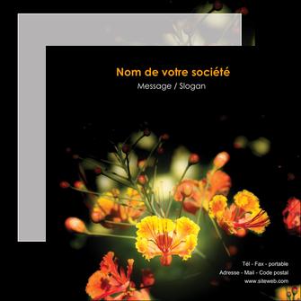 exemple flyers fleuriste et jardinage fleurs printemps jardin MLIG35165
