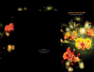 realiser pochette a rabat fleuriste et jardinage fleurs printemps jardin MLIG35169