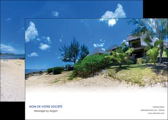 imprimerie affiche sejours agence immobilier ile maurice villa MIS35197