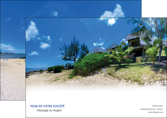 imprimer affiche sejours agence immobilier ile maurice villa MIS35199