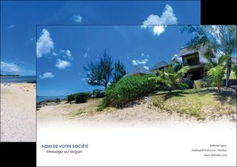 imprimerie flyers sejours agence immobilier ile maurice villa MIS35201