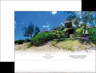 imprimerie pochette a rabat sejours agence immobilier ile maurice villa MIS35207