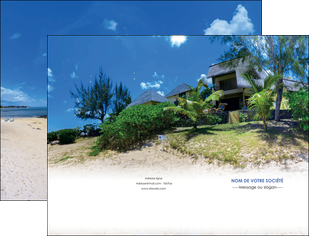 impression pochette a rabat sejours agence immobilier ile maurice villa MIS35209