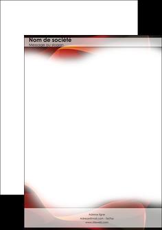 maquette en ligne a personnaliser tete de lettre graphisme texture image rouge texture en rouge MLGI3559