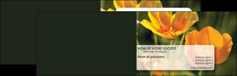 modele carte de visite fleuriste et jardinage fleurs nature printemps MLGI35969