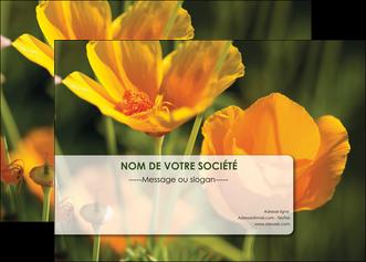 faire affiche fleuriste et jardinage fleurs nature printemps MLGI35983