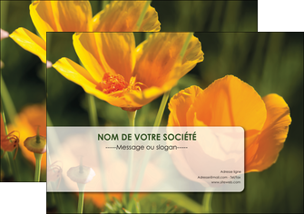 creer modele en ligne affiche fleuriste et jardinage fleurs nature printemps MLGI35985