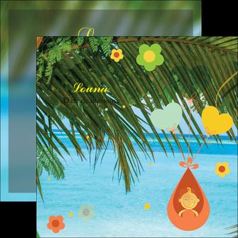modele en ligne flyers mer plage ciel bleu MLGI36041