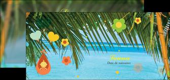 faire modele a imprimer flyers mer plage ciel bleu MLGI36043