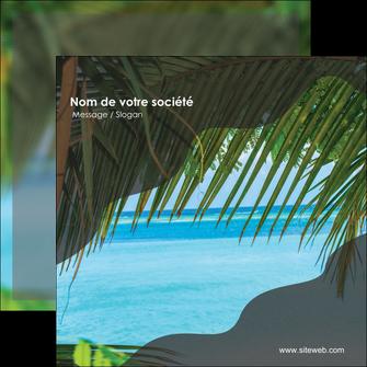modele en ligne flyers mer plage nature MLGI36063