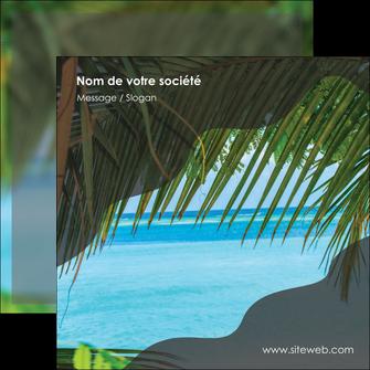 imprimerie flyers mer plage nature MLGI36091