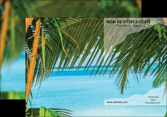 personnaliser maquette pochette a rabat mer plage nature MLGI36093