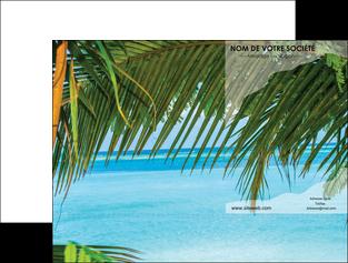 imprimerie pochette a rabat mer plage nature MLGI36095