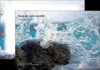 personnaliser modele de flyers mer rocher nature MLIG36215