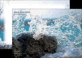 imprimer affiche mer rocher nature MLIG36221