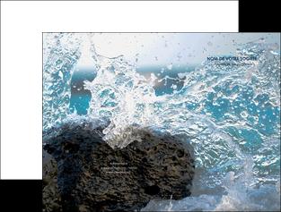 impression pochette a rabat mer rocher nature MLIG36231
