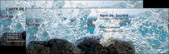 imprimerie carte de visite mer rocher nature MLIG36237
