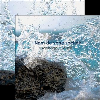 modele en ligne flyers mer rocher nature MLIG36239