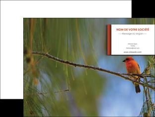 imprimer pochette a rabat parc oiseaux colore MLGI36297