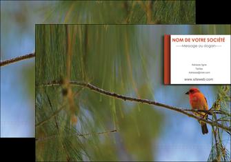 realiser pochette a rabat parc oiseaux colore MLGI36299