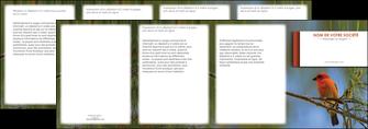 modele en ligne depliant 4 volets  8 pages  parc oiseaux colore MLGI36307
